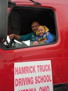 Hamrick School Grad David Yang and son